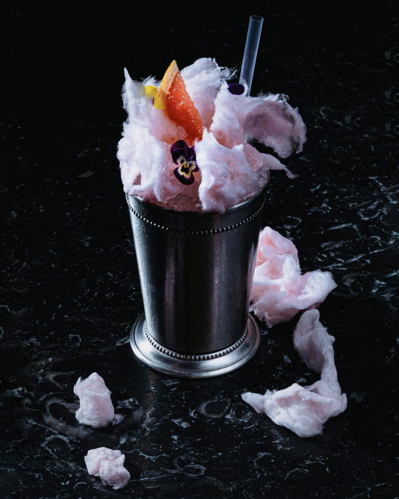 Winter à la table | Beluga: COTTON CANDYcocktail