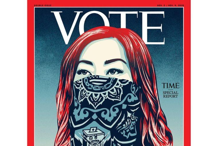 Για πρώτη φορά στην ιστορία του, το TIME άλλαξε το λογότυπότου