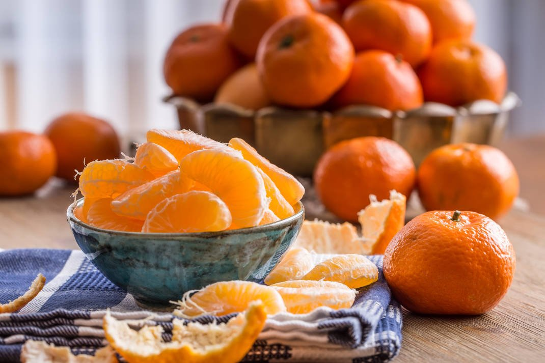 Μανταρίνια: Τα φρούτα τηςμακροζωίας!