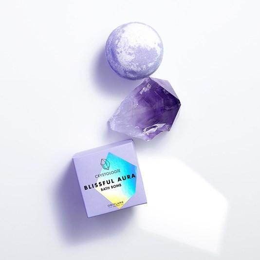 Bath Bomb Crystologie Blissful Aura 4,99€