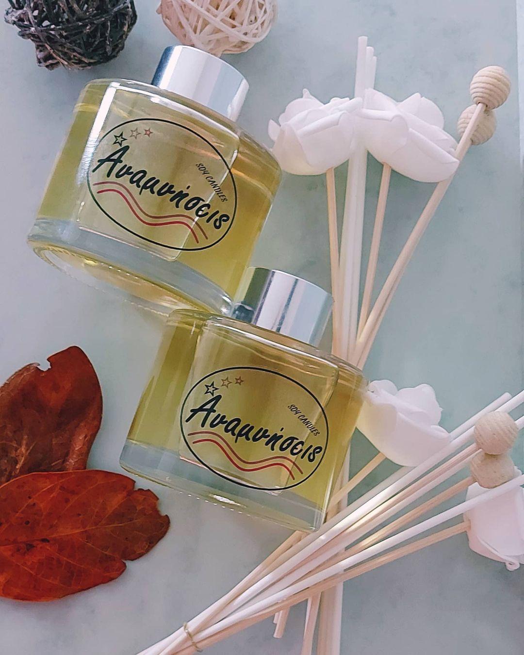 Υπέροχα χειροποίητα αρωματικά κεριά και όχι μόνο!