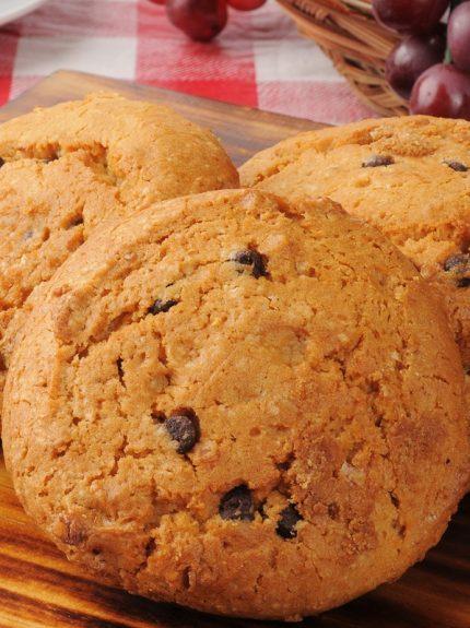 Cookies με σταγόνες σοκολάτας χωρίςγλουτένη