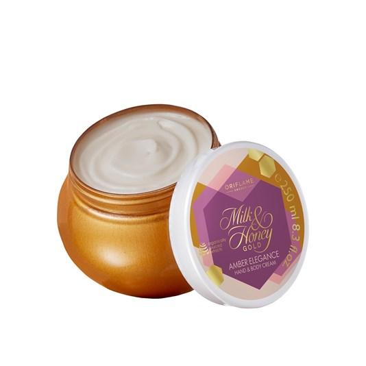 Κρέμα Χεριών & Σώματος Milk & Honey Gold AmberElegance