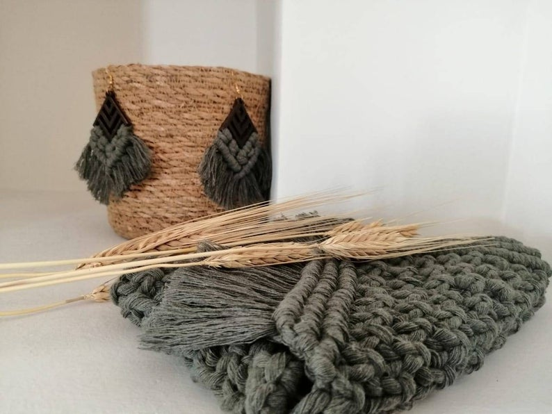 Hand-knotted Macrame Creations by MacrameAthens
