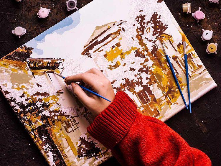 Πίνακες ζωγραφικής μεαριθμούς