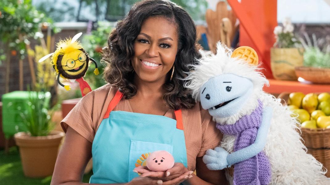 Η Μισέλ Ομπάμα ετοιμάζει παιδική μαγειρική εκπομπή στοNetflix