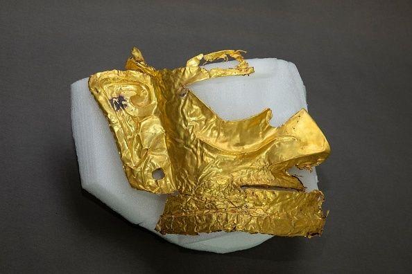 Χρυσή μάσκα ηλικίας 3000 ετών αποκαλύφθηκε σε ανασκαφές στηνΚίνα